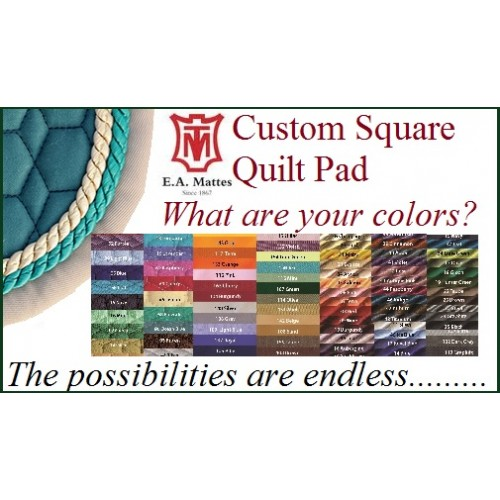 EA Mattes Custom Quilt Only Pad