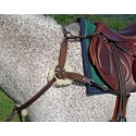 Nunn Finer 5 Way Breastplate with removable sheepskin