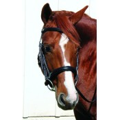 Vespucci Voyager PLAIN RAISED DRESSAGE SNAFFLE WITHOUT FLASH