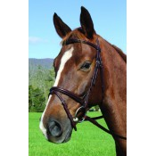 Vespucci Voyager PLAIN RAISED JUMP BRIDLE
