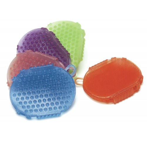 Jelly Glitter Two-Sided Scrubber