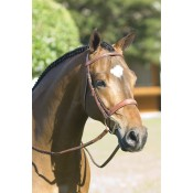 Rodrigo Pessoa® Fancy Wide Show Bridle w Raised Laced Reins