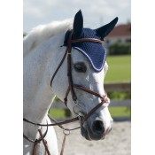 Rodrigo Pessoa® Figure 8 Padded Jumper Bridle with Rubber Covered Reins