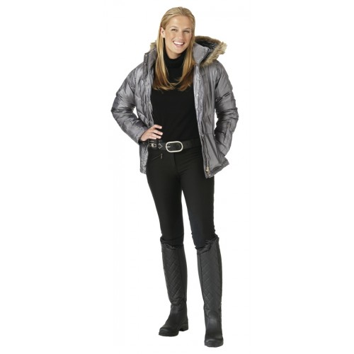 Ovation® Pull-On Winter Rider Knee Patch Breeches - Child's