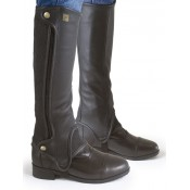 Ovation® Precise Fit Leather Half Chaps - Ladies'