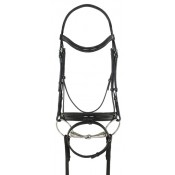 Ovation® Natalia Crank Flash Dressage Bridle