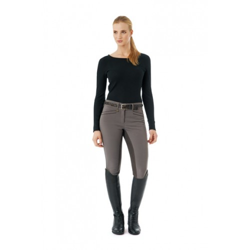 Ovation® Celebrity Slim Secret EuroWeave™ DX Front Zip Full Seat Breeches - Ladies'
