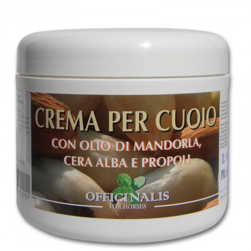 Officinalis® Crema Per Cuoio- Almond Leather Conditioning Cream