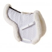 Ovation® Europa™ Sheepskin Hunter Show Pad with Billet Cutout