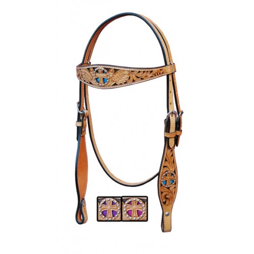 Browband Headstall St. Christopher