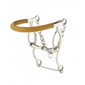 Stainless Steel Snaffle Combo Hackamore