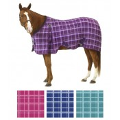 Equi-Essentials™ EZ-Care™ Light Plaid Stable Sheet