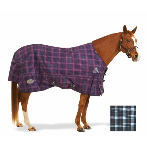 Centaur® 1200D Plaid Turnout Blanket 300g