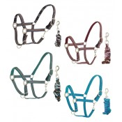 Centaur® Plaid Fleece Breakaway Halter with Lead