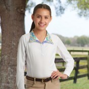 Romfh® Sarah Child's Show Shirt- Long Sleeve
