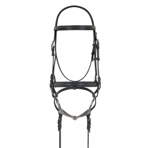 Camelot™ Crank Dressage Bridle with Anti-Slip Web Reins