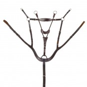 Ovation® Classic Collection- Shaped 5-Point Breastplate with Stretch Corf Running Attachment
