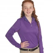 Ovation® Child's Cool Rider Tech Long Sleeve Shirt