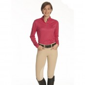 Ovation® EnduraCool Clarino® Knee Patch Tight - Ladies'