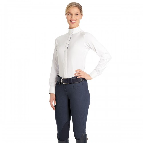 Ovation® Marilyn Melange™ Shapely Knee Patch Breeches- Ladies'