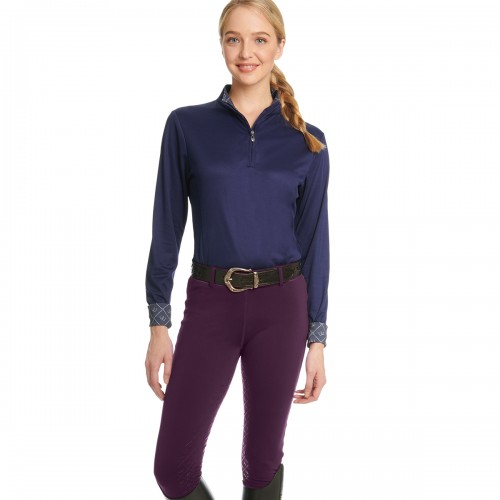 Ovation® Equinox™ 3-Season Full Seat Pull-On Breech- Ladies'