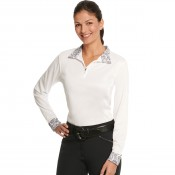 Ovation® Destiny Evercool Long Sleeve Show Shirt- Ladies'