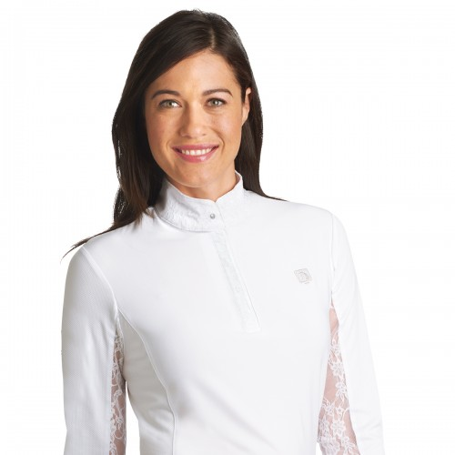 Romfh® Lace Hunter Show Shirt- Long Sleeve