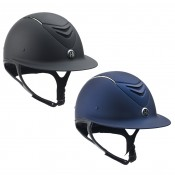 One K™ Defender AVANCE Wide Brim Chrome Stripe Helmet