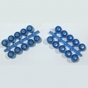 Eco Pure EZ Rubber Stud Plugs- Pack of 20