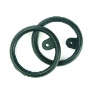 Eco Pure Peacock Rubber Rings with Tabs
