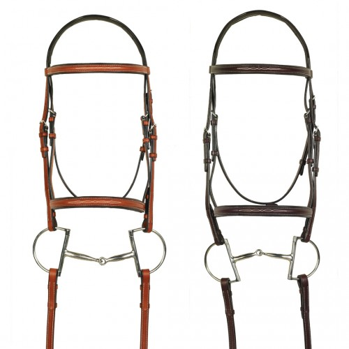 Aramas® Fancy Raised Padded Bridle with Fancy Lace Reins
