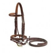 Vespucci Plain Raised Jump Bridle